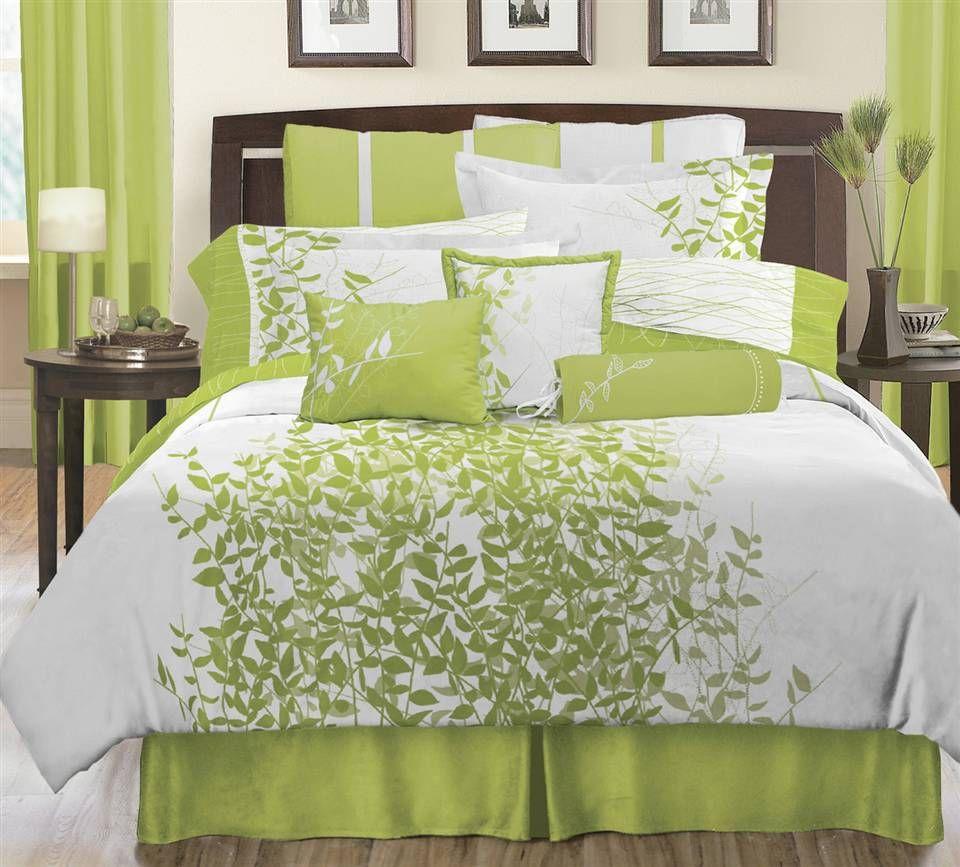 Green Bedding, Lime Green