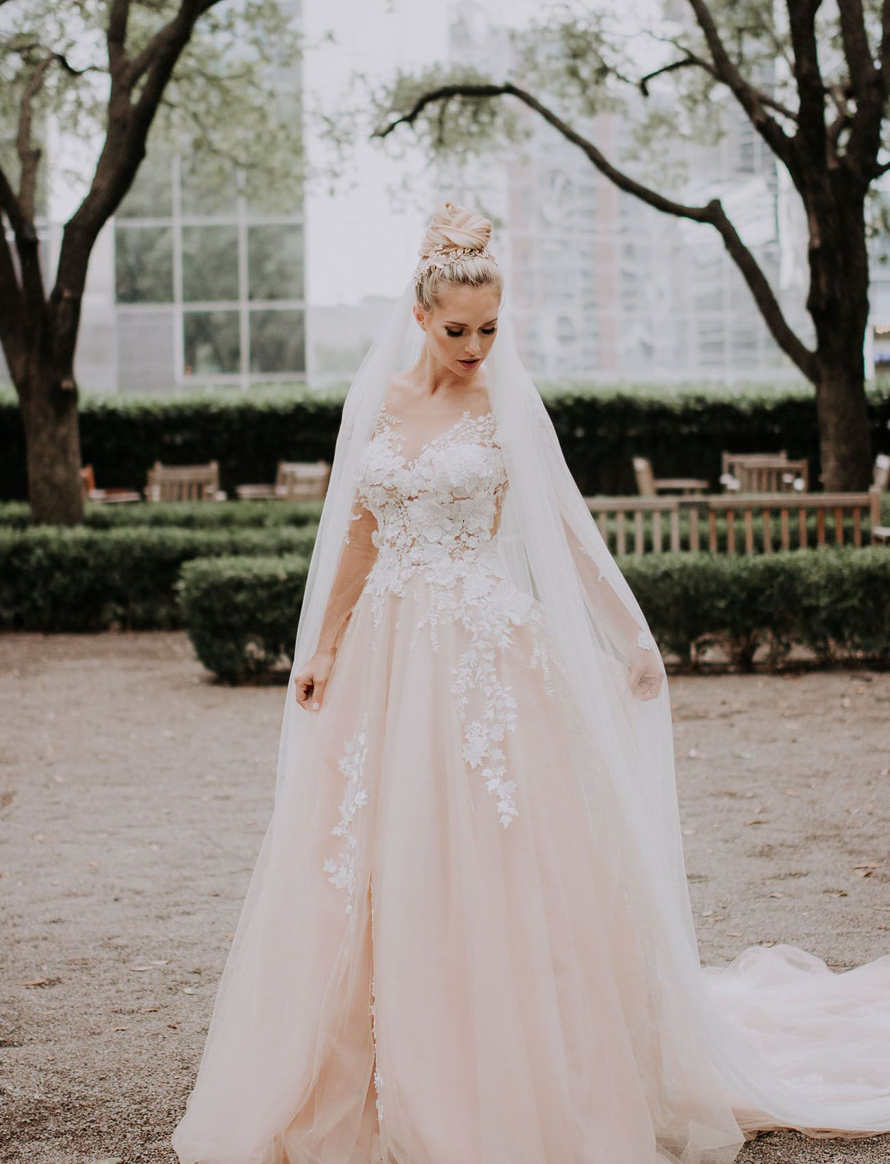 Crystal Designs Wedding Dress