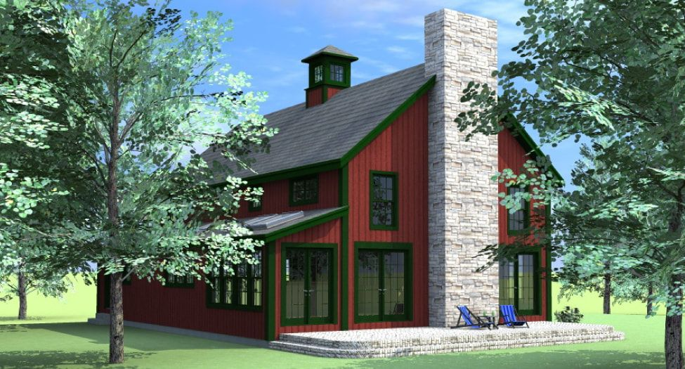 Haley Floor Plans American Post Beam Homes Modern Solutions To Traditional Living Floor Plans Exterior Rendering House Styles