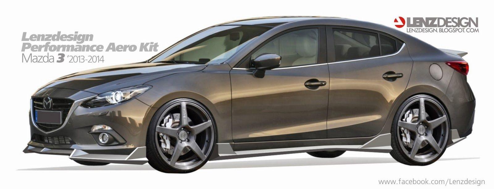 Mazda3 2014 Tuning Lenzdesign Performance Body Kit 車