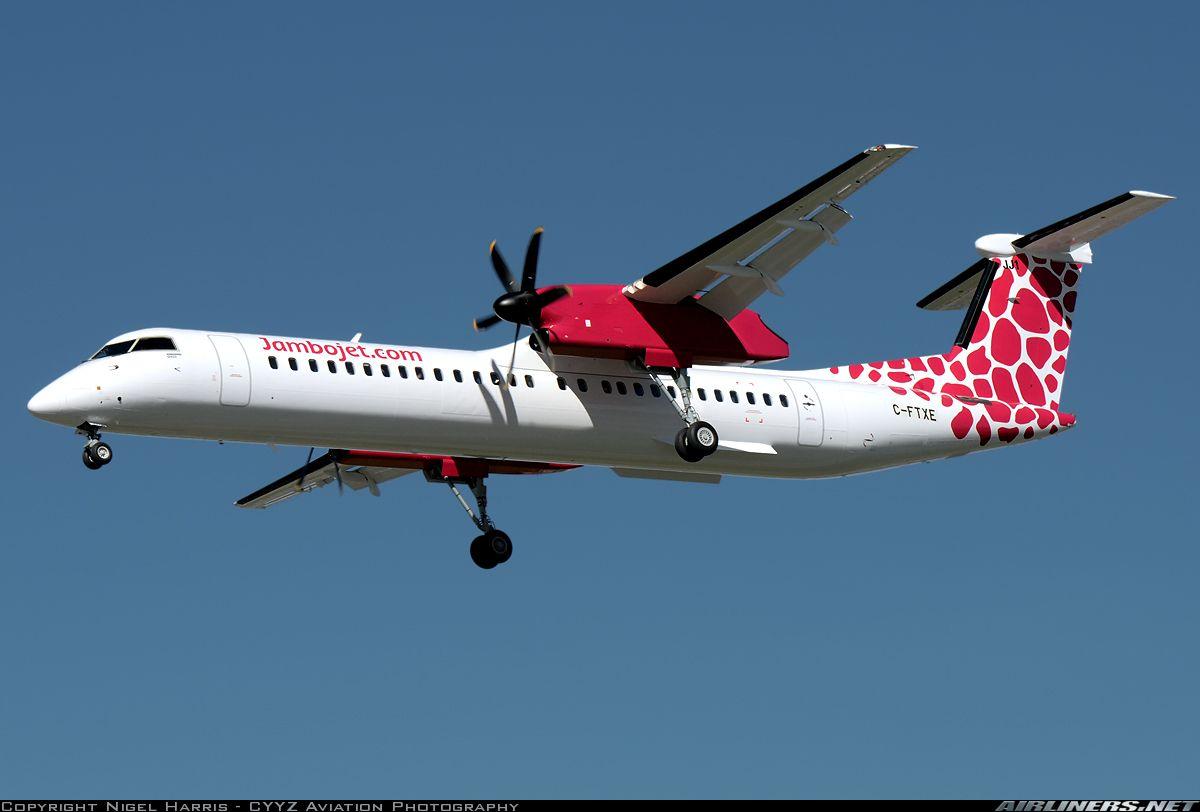 Jambojet first Q400 return from customer acceptance flight