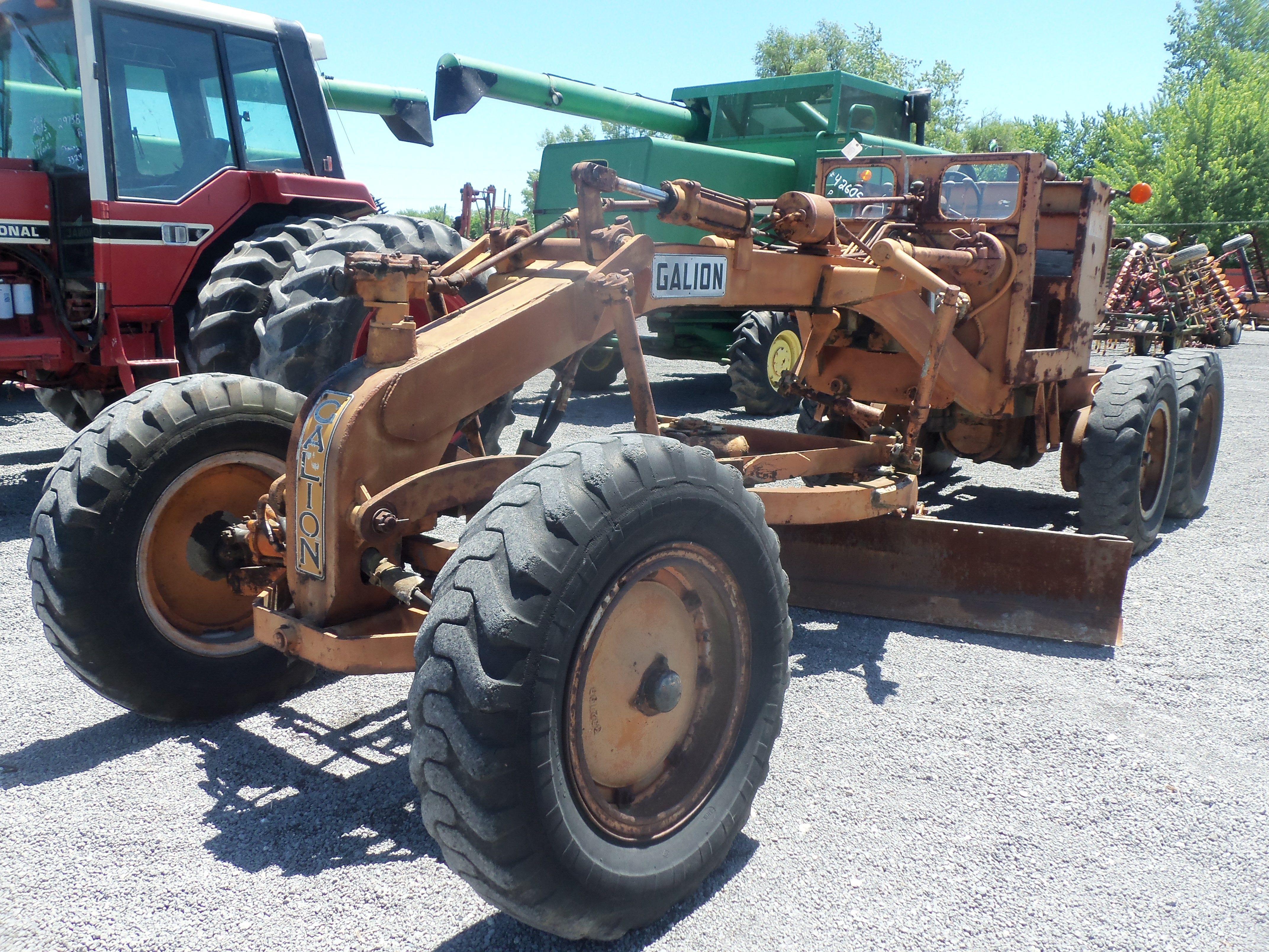 Old Galion Motor Grader Construction Equipment Motor Grader Graders