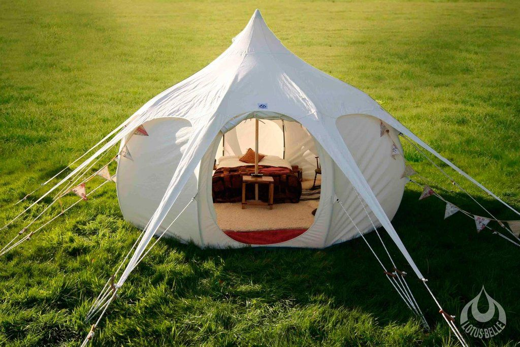 4m Lotus Belle Gl&ing Tent & 4m Lotus Belle Glamping Tent | Models Luxury camping and Belle