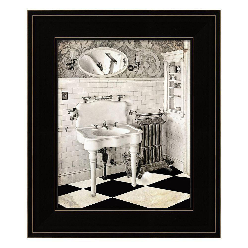 victorian bathroom framed wall art multicolor on bathroom wall decor id=47380