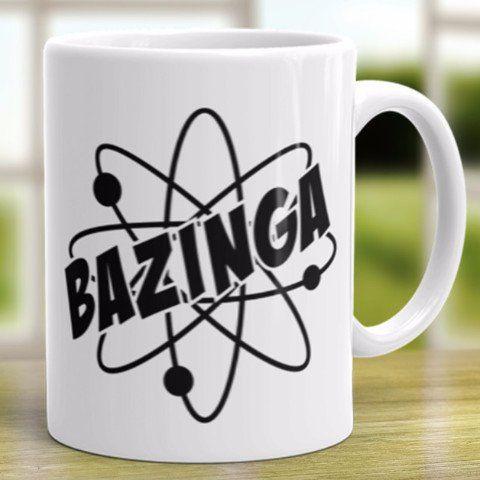 The Bang Theory Bazinga Coffee Mug