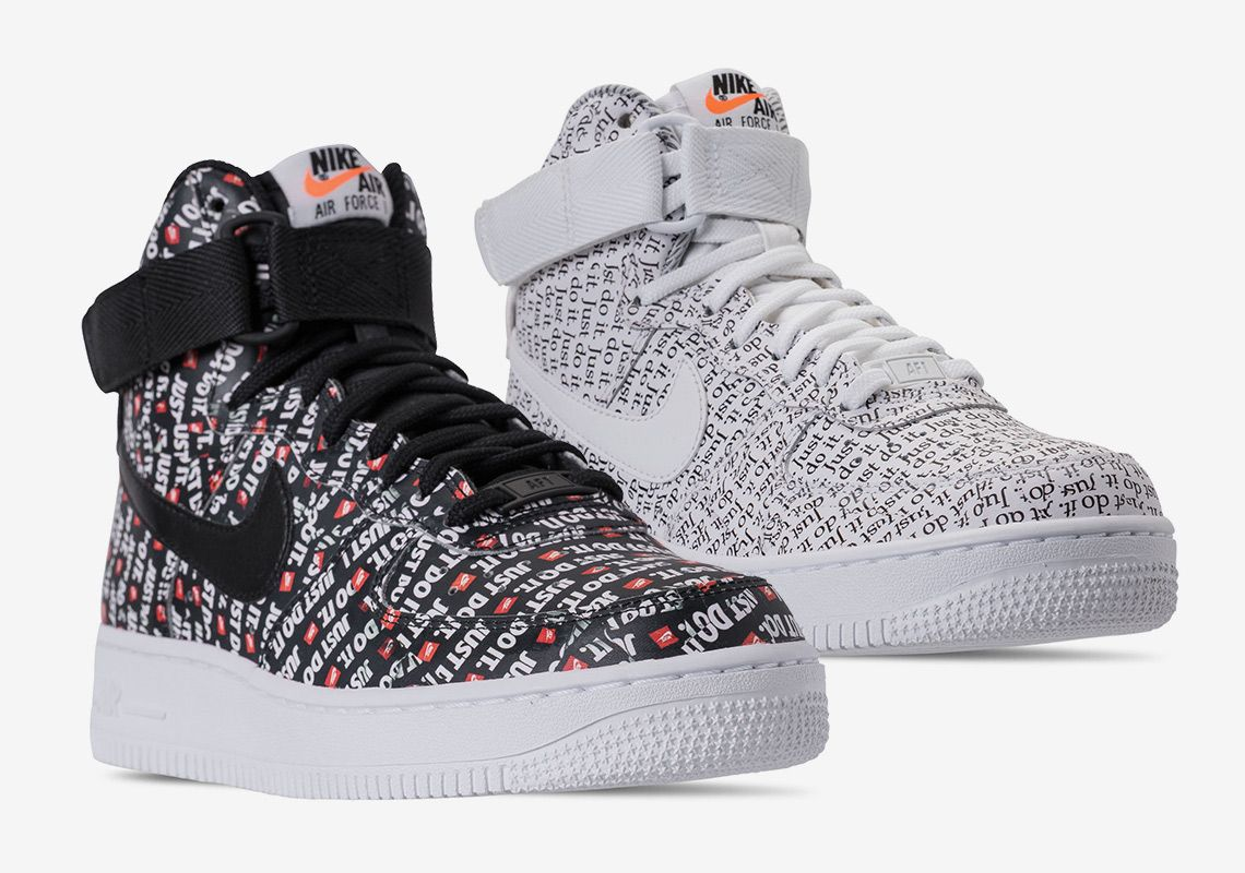 7a91b623ad1570 Nike Air Force 1 High Just Do It Release Date  thatdope  sneakers  luxury   dope  fashion  trending