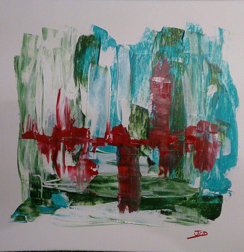 Rainforest (toile coton 40x40 acrylique)