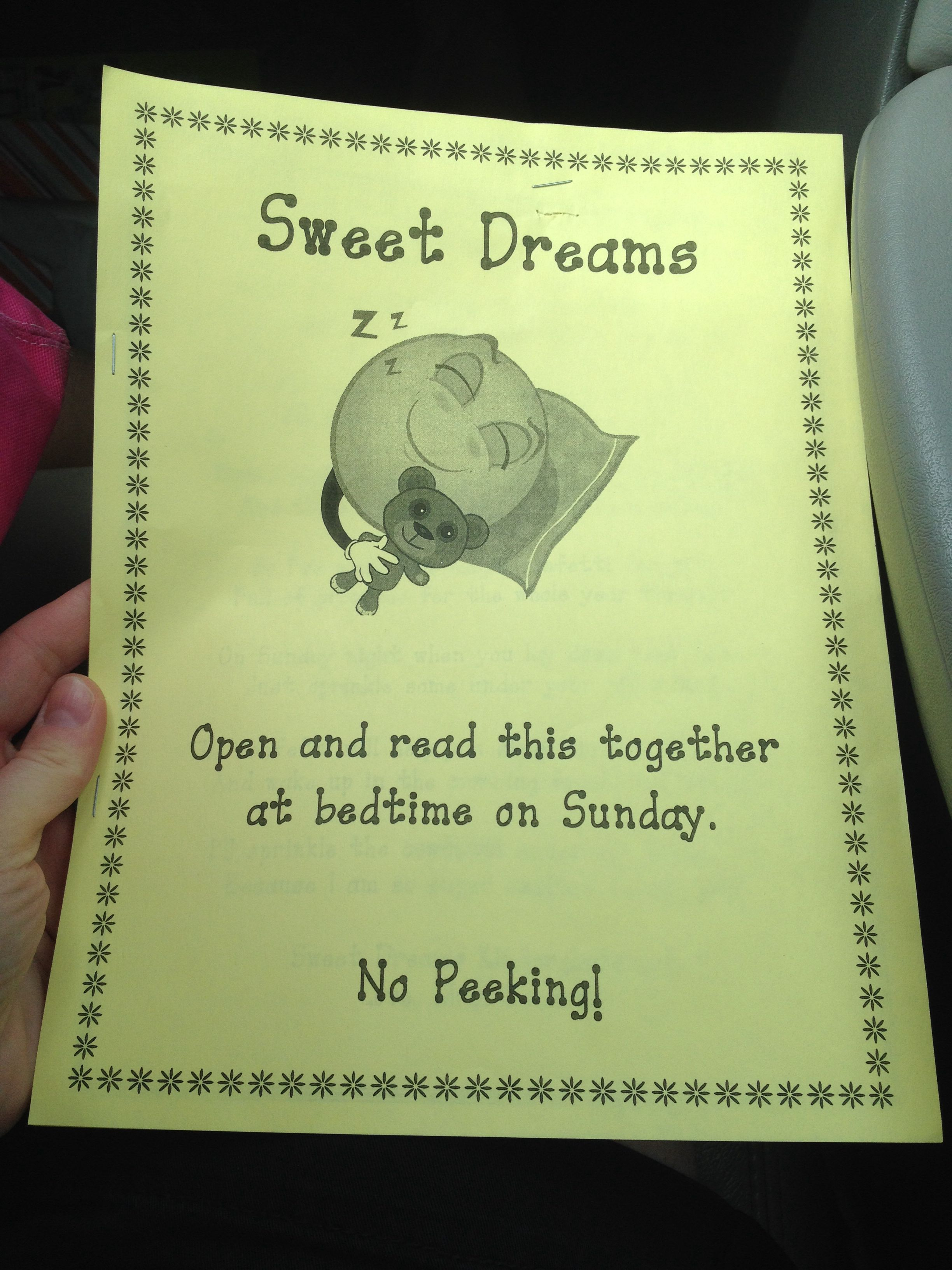 The Night Before Kindergarten Poem To Read With Your