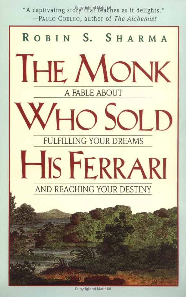 The monk who sold his ferrari fiction or nonfiction
