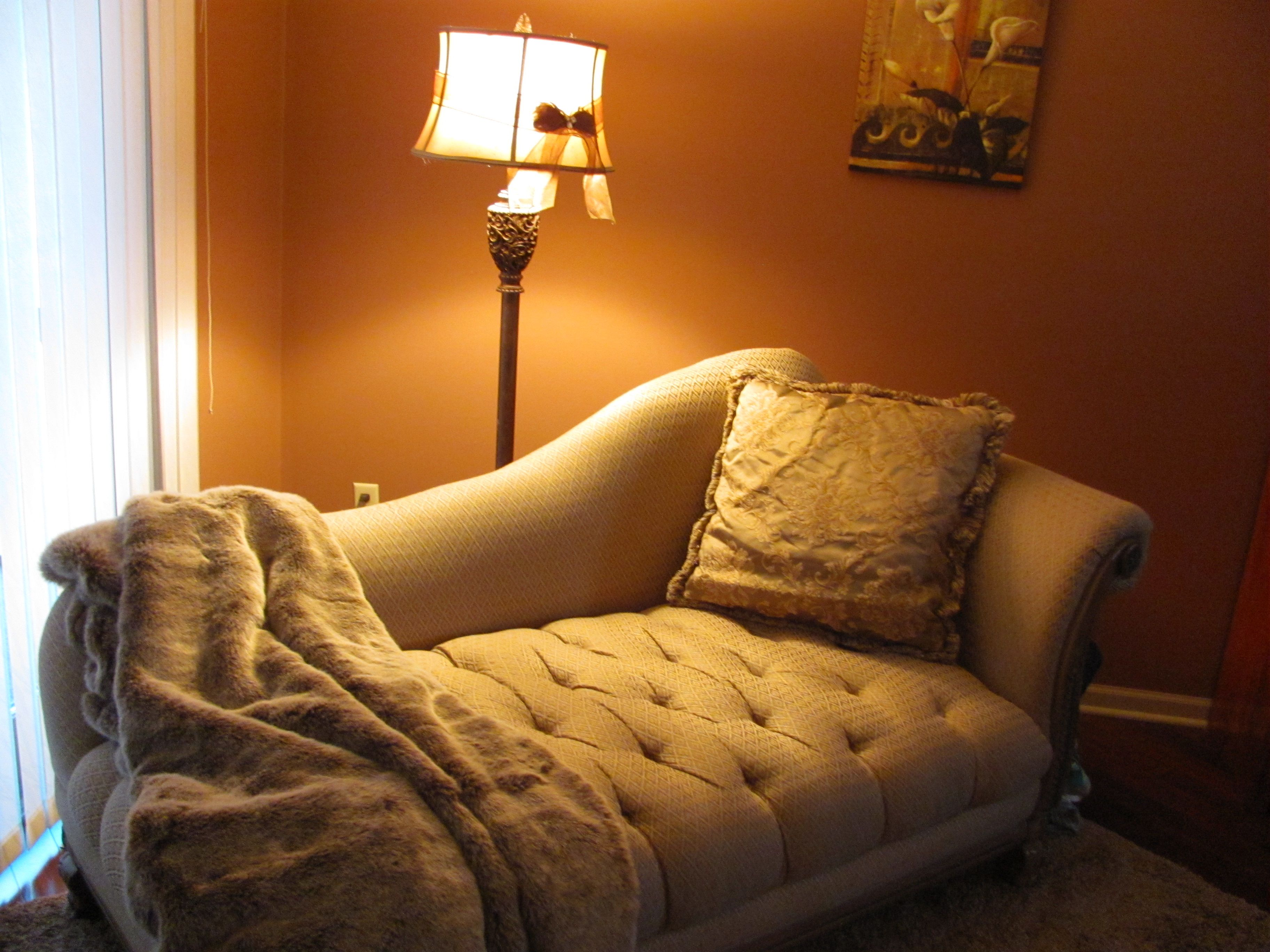 My Favorite Reading Spot Chaise Lounge In My Bedroom