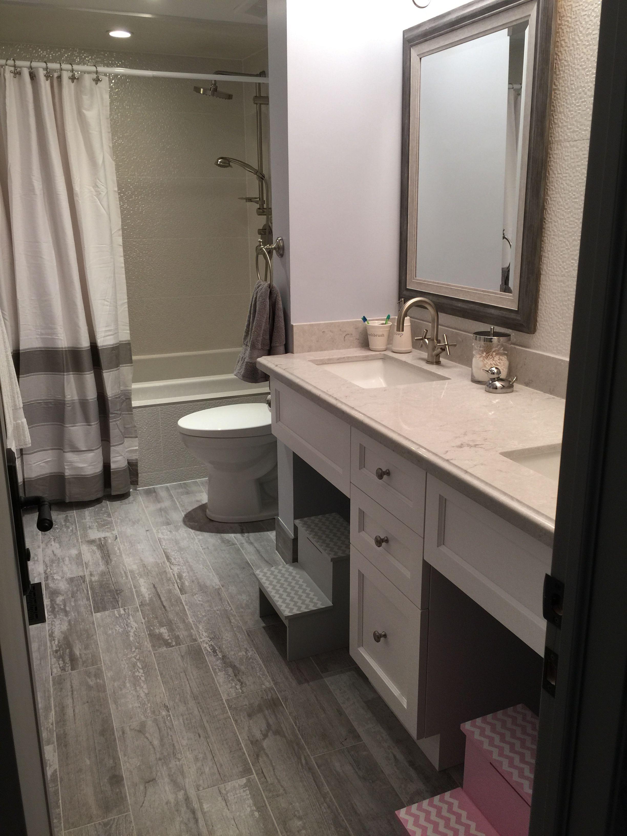 Floor tile stonepeak crate weathered board 6 x24 for Porcelanosa bathroom floor tiles