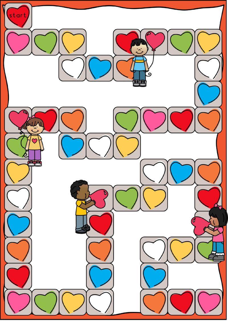Werken Aan Woordenschat Een Stappenplan Klas Van Juf Linda Kleuterschool Kleuren Valentijnen Spelborden