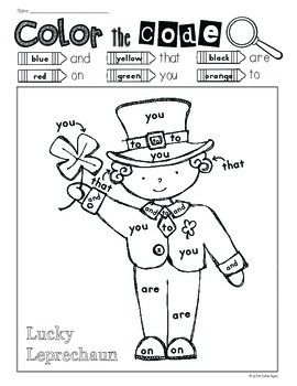 Print and Go! St. Patrick's Day Math and Literacy (NO PREP