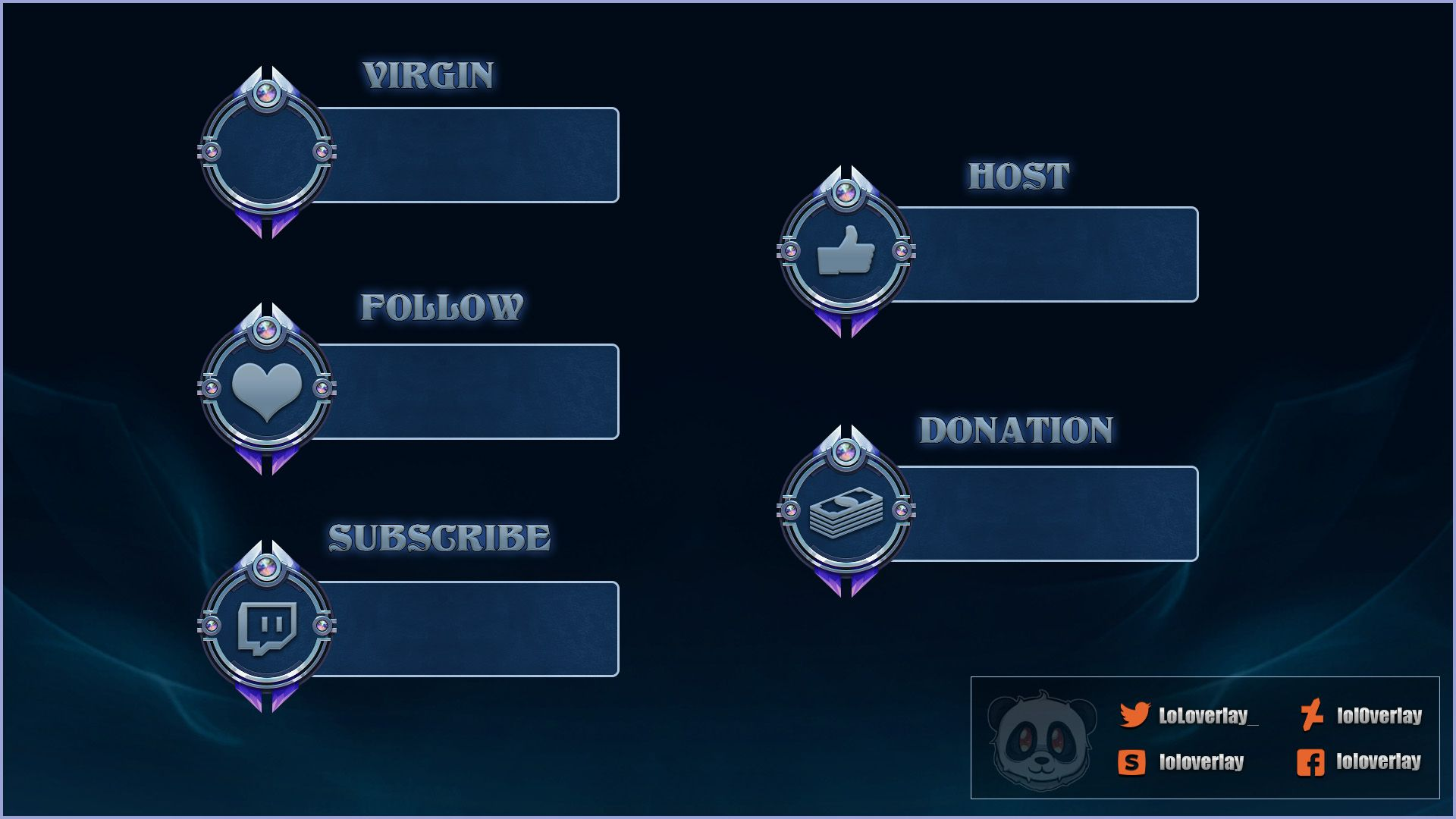 100+ Free twitch alerts download - Twitch Overlay Template ...