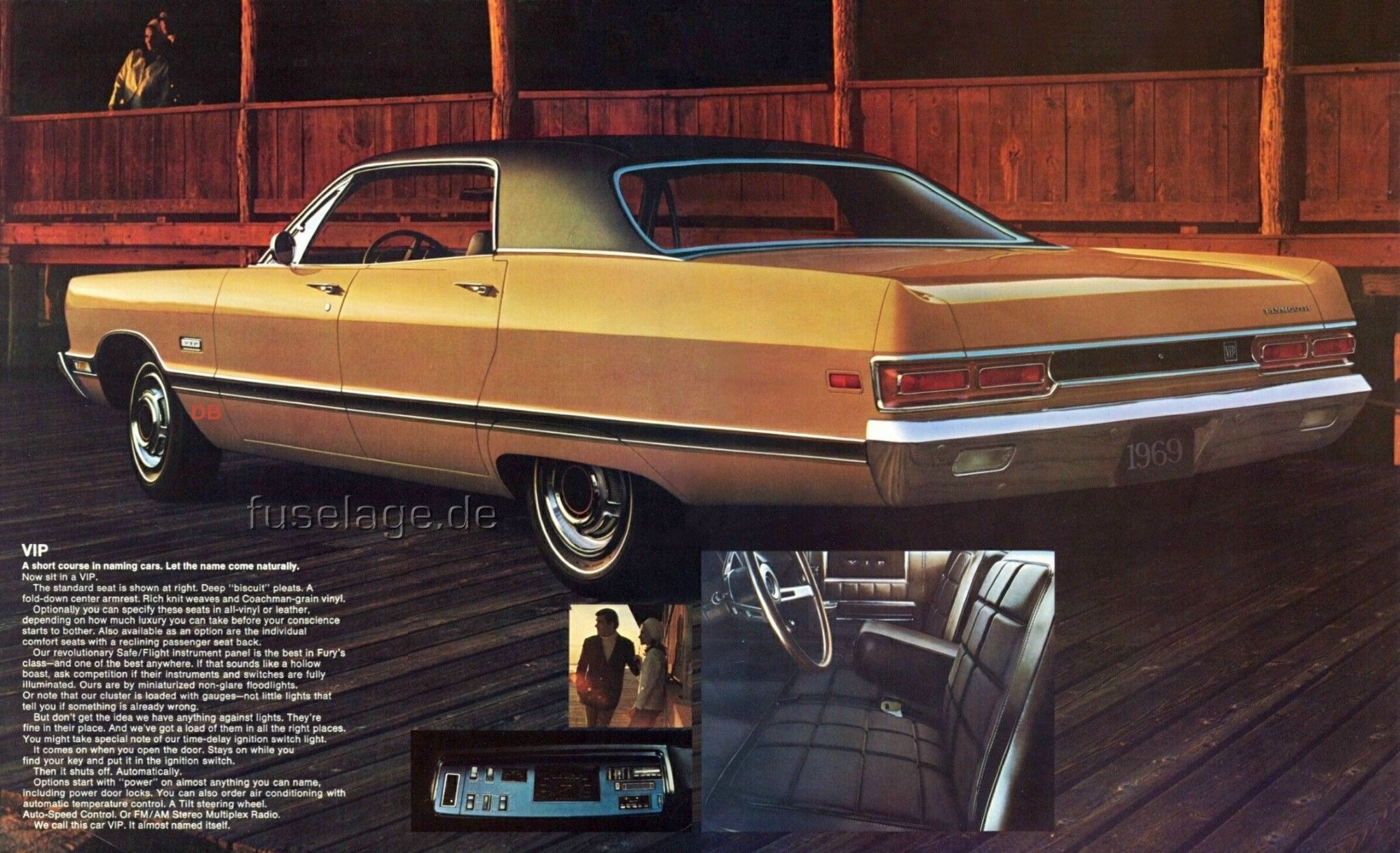 1969 Plymouth Vip 4 Door Hardtop Car Advertising Classic Cars Trucks Old Muscle Cars