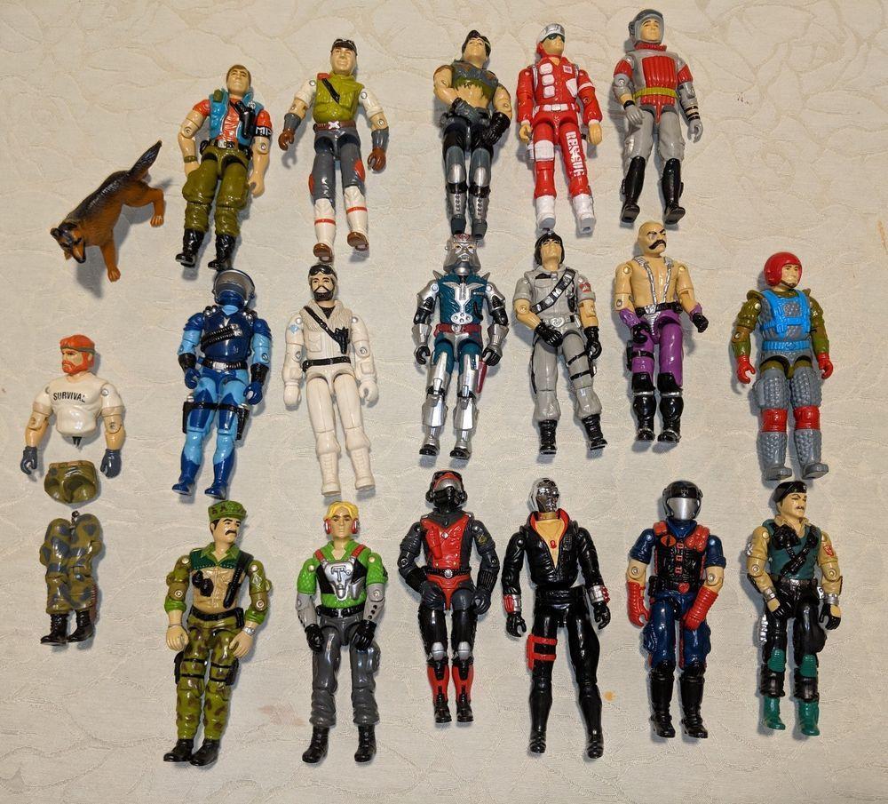 LOT Action Figure Weapons Transformers Star Wars GI-Joe 80s 90s 00s Vintage?