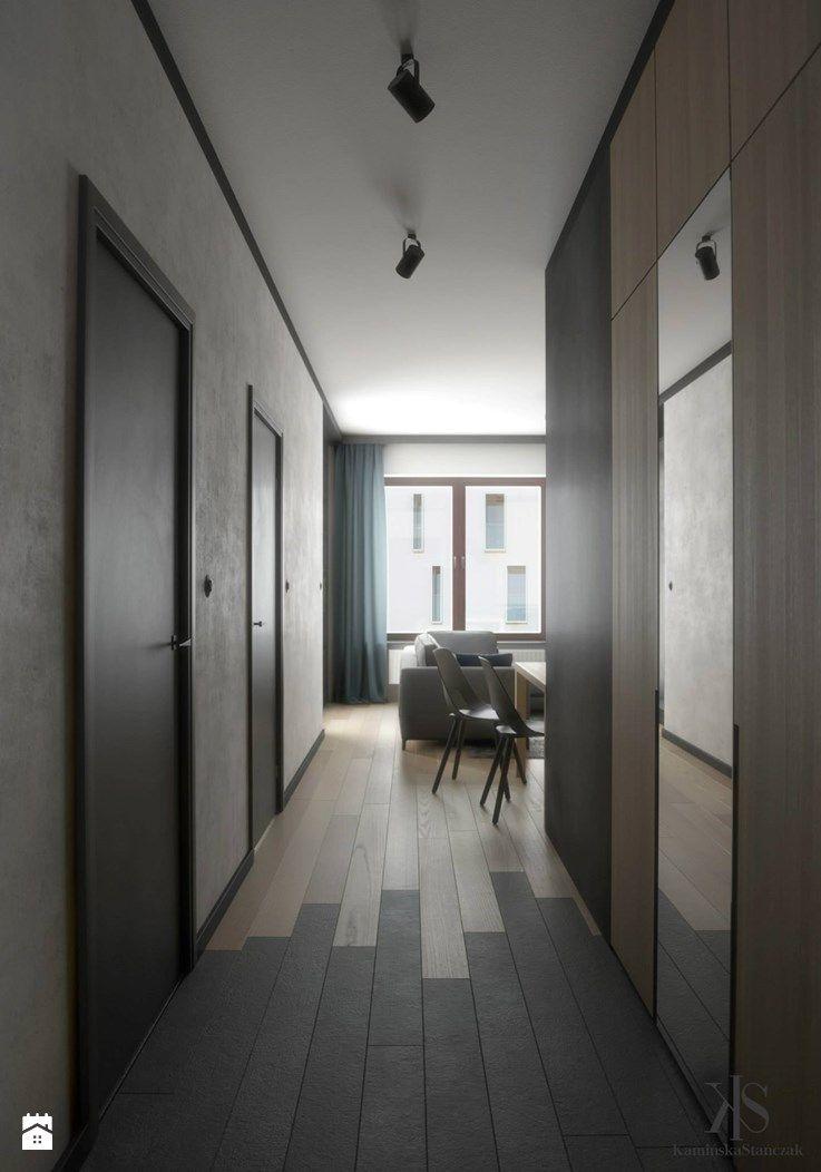 Mieszkanie w Warszawie - zdjęcie od KamińskaStańczak - Hol / Przedpokój - Styl…