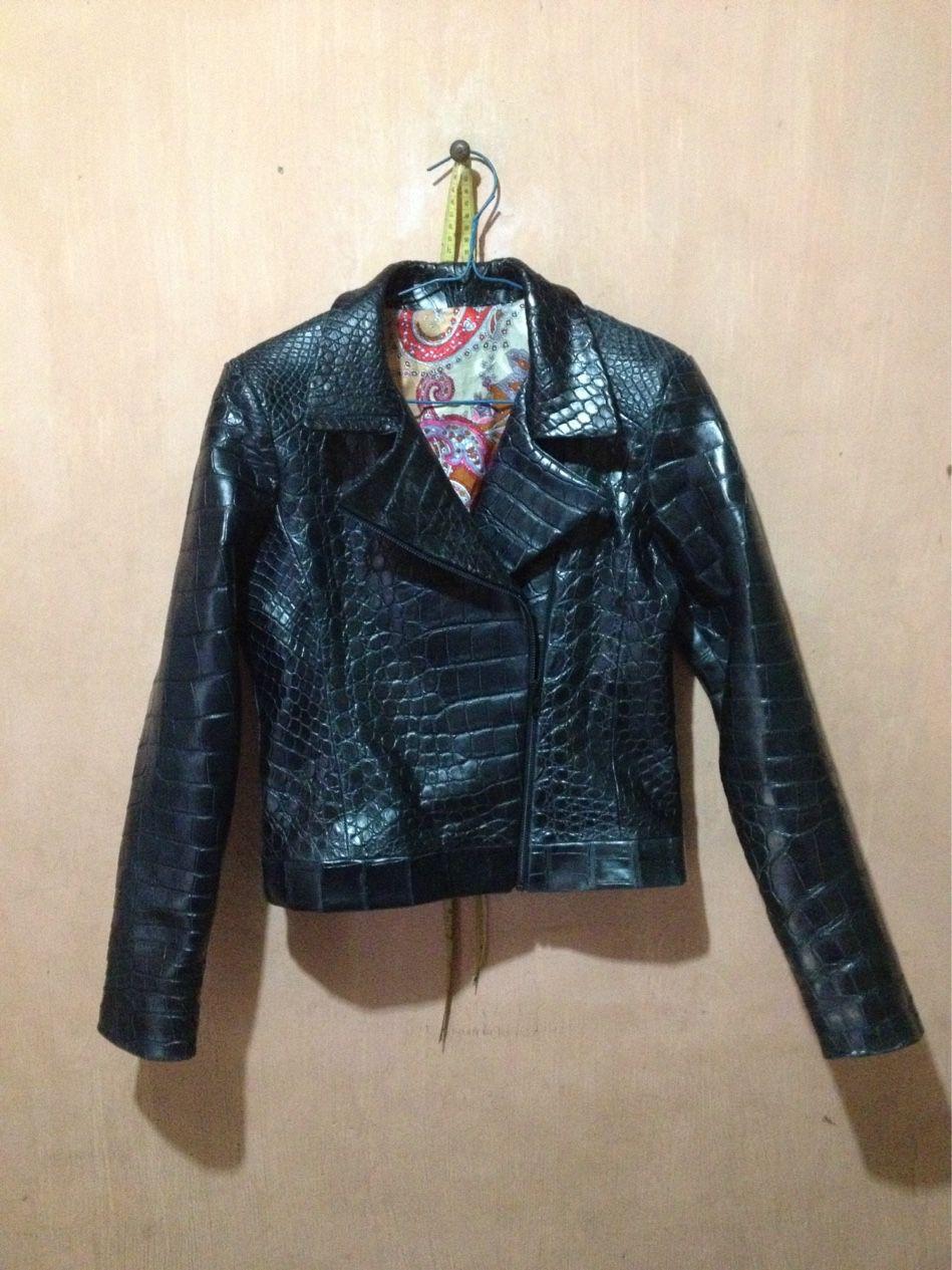 29d87425f86 Crocodile jacket real 100 % made by kuta leather and tailor .  crocodile   leather  kuta  bali