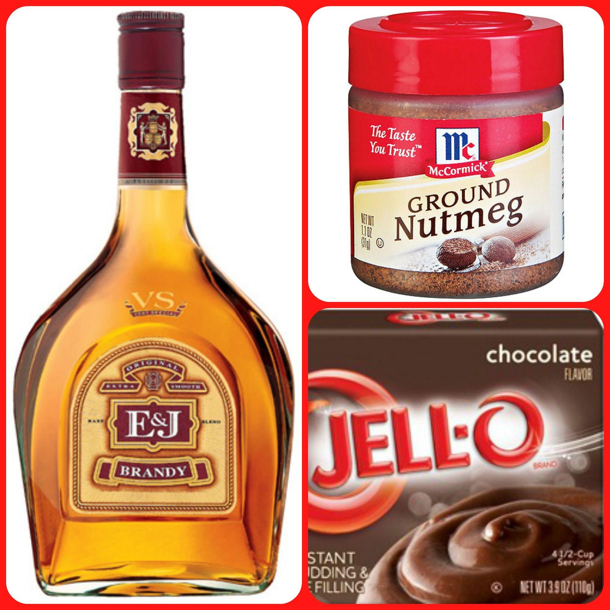 Brandy Alexander Pudding Shots 1 Small Pkg Instant Chocolate