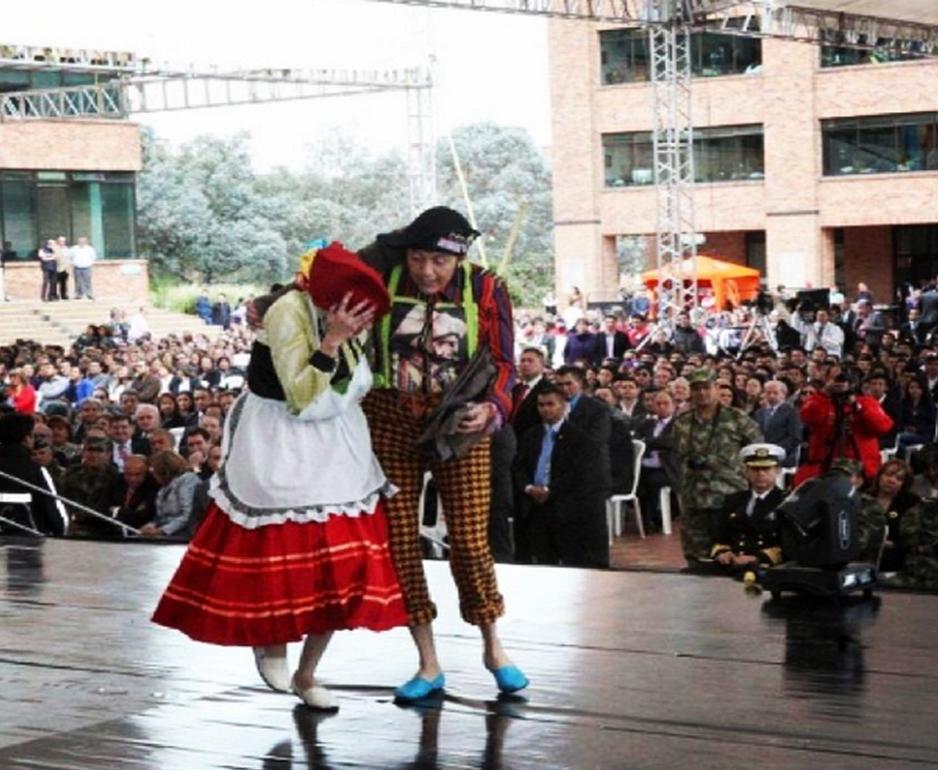 Escuela de formación de danza de Funza