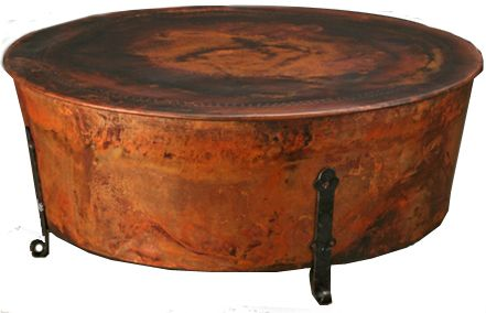 Copper Top Coffee Tables Round Photos