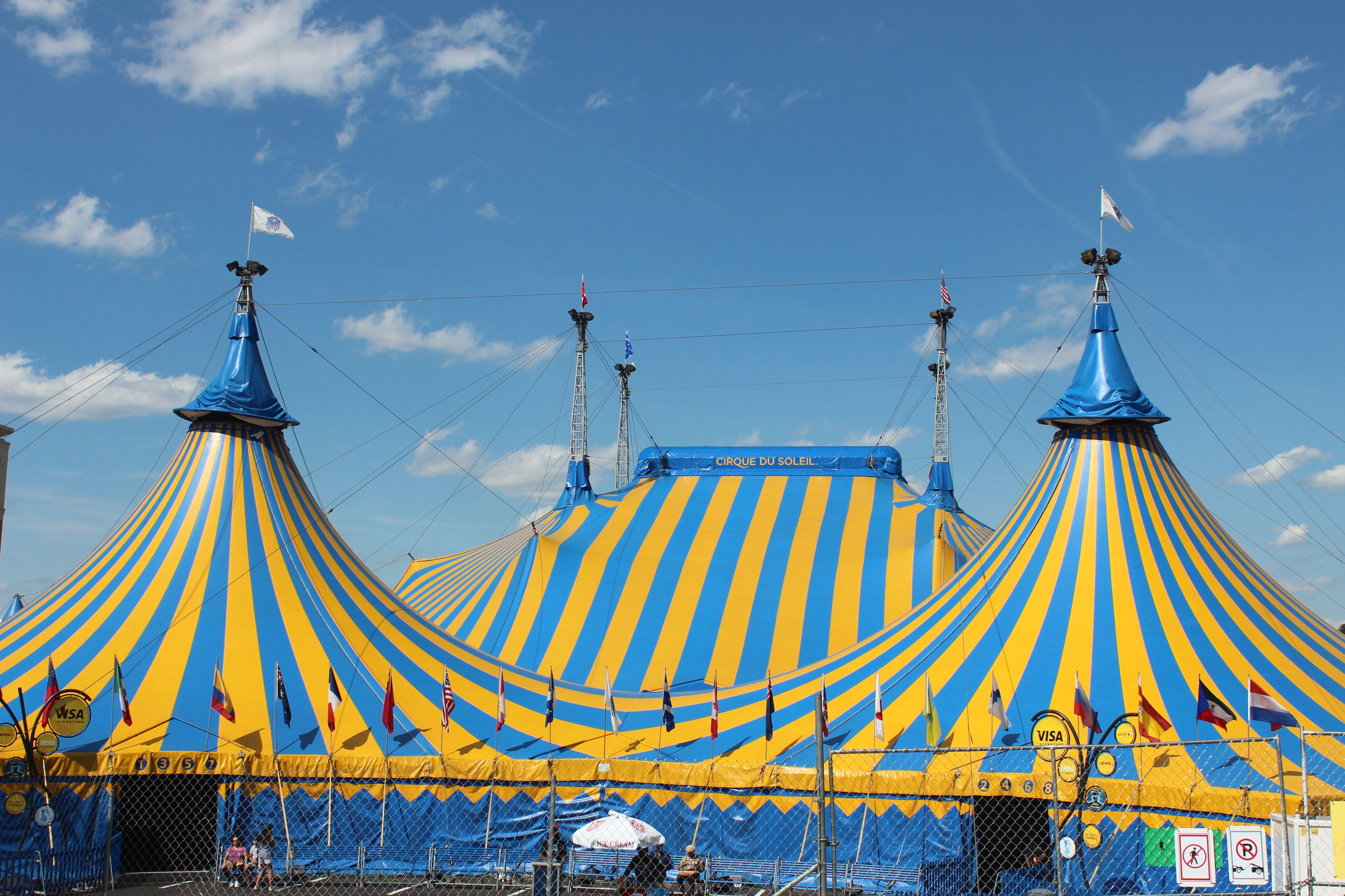 Cirque Du Soleil tent closer up Natu0027l Harbor ... & Cirque Du Soleil tent closer up Natu0027l Harbor MD | Washington DC ...
