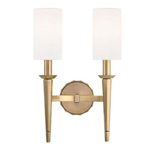Found it at wayfair duane 2 light wall sconce