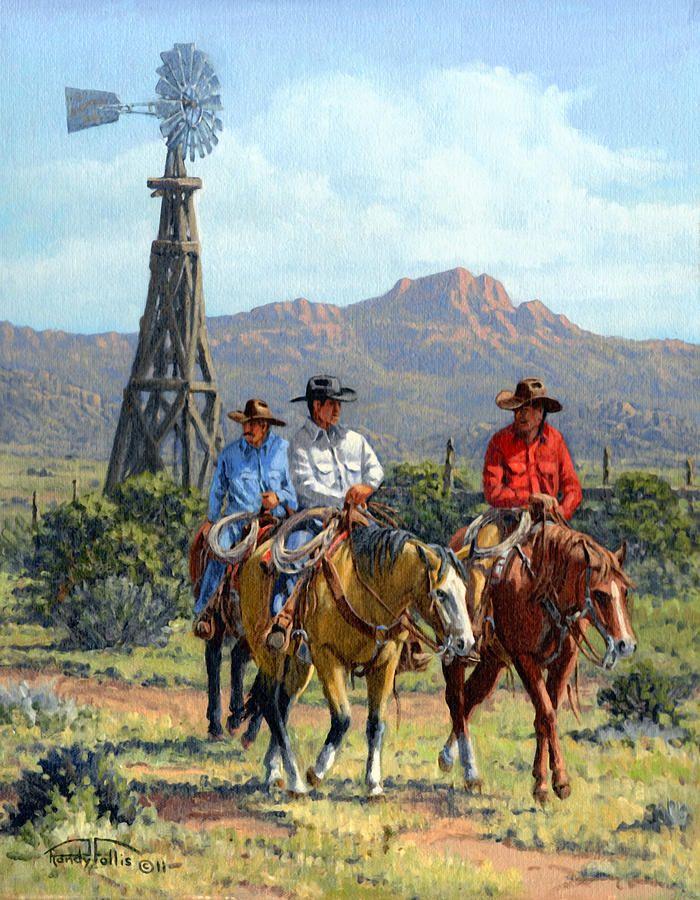 Three Riders ~ by Randy Follis