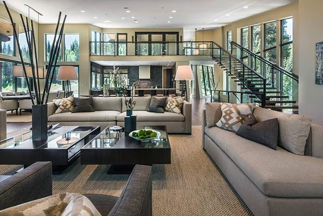Charmant This Remarkable Modern Mountain Home Was Designed By Upwall Design In  Collaboration With LMK Interior Design, Located In The Colony At White Pine  Canyon In ...