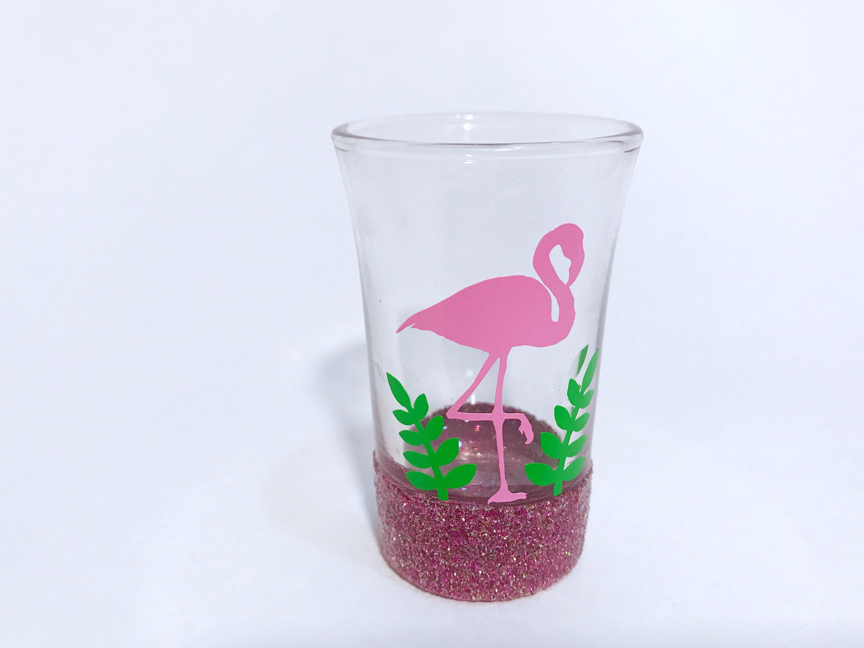 glitter dipped shot glass gift for her 21st birthday gift ideas cute