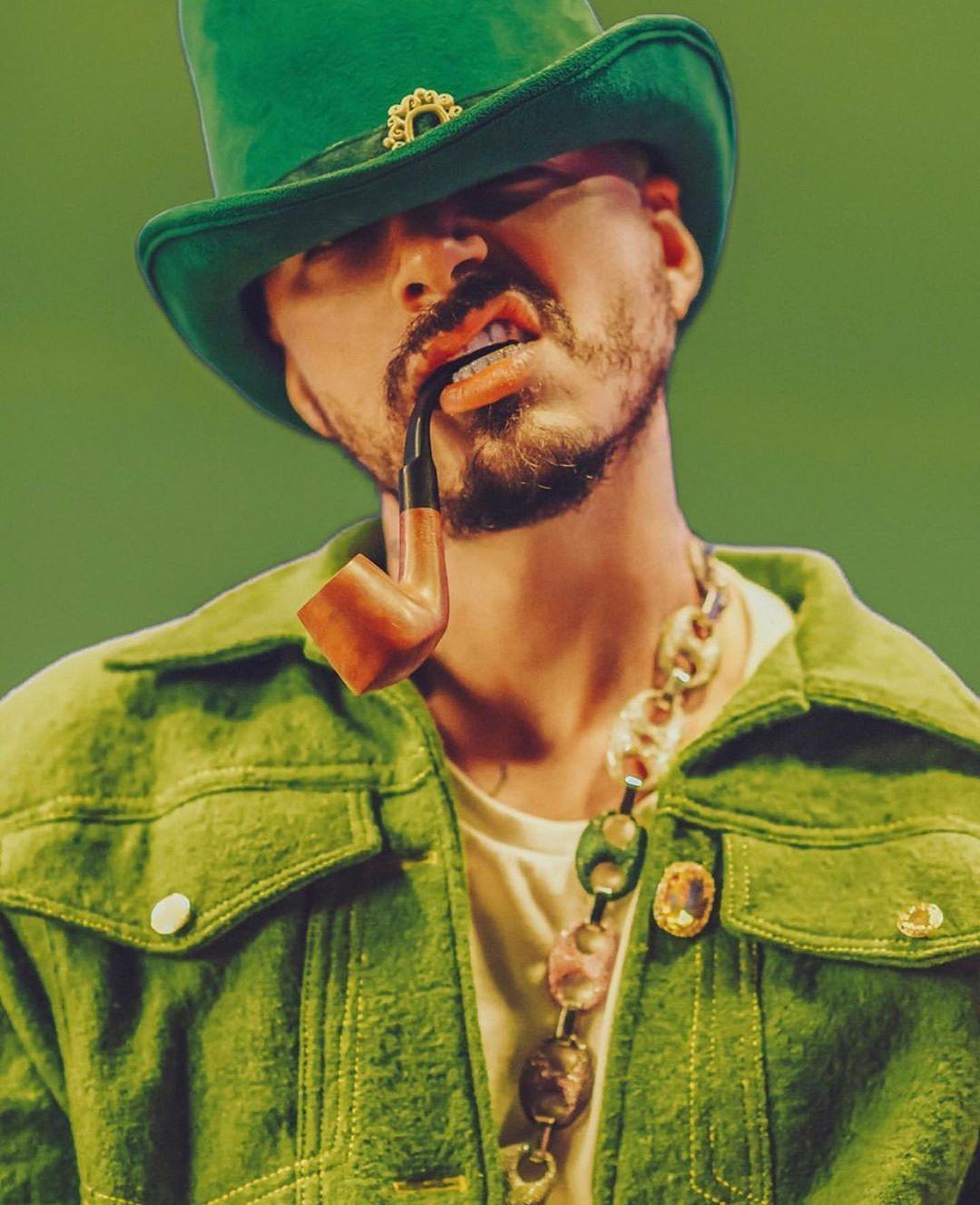 J Balvin Verde In 2020 Reggaeton Singer Classic Hollywood
