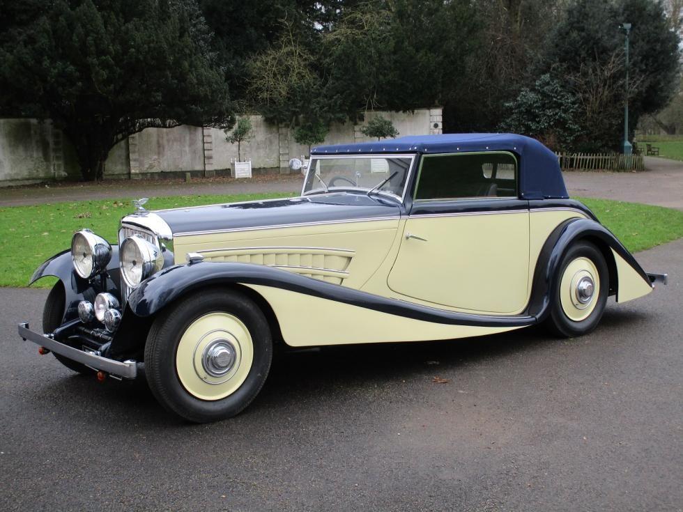 1935 Bentley 3 1 2 Litre For Sale Three Position Drophead Coupe By Corinthian Bentley Bentley Car New Bentley