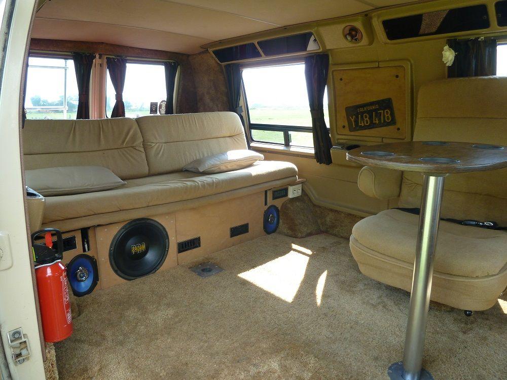 For Sale 1981 Chevy Van G20 Lowtop Custom Van Interior Chevy