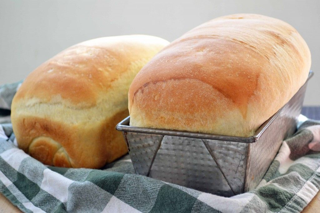 Julia Child's White Sandwich Bread ~~ my mother made the best home made bread~~