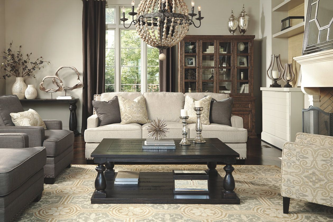 Mallacar Coffee Table Ashley Furniture Homestore Farmhouse