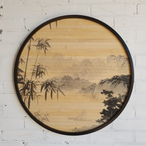 Bamboe Wanddecoratie Stoer In Wonen Muurdecoratie Bamboe Wonen