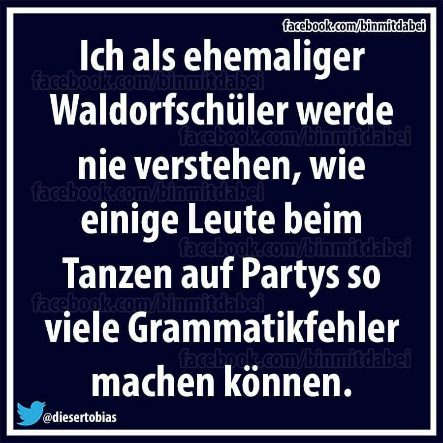 Waldorfschüler… – lustig der Spruch