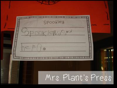 Spookley - describing characters