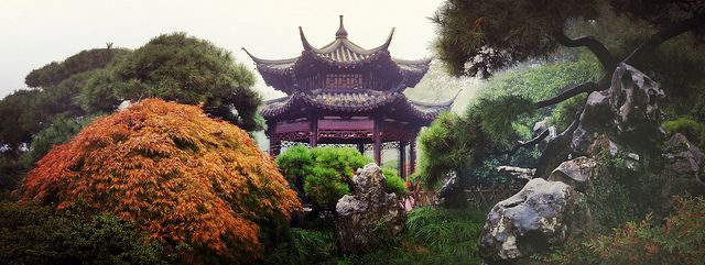 Hangzhou West Lake Garden Pro hdr, China travel and Lakes - chinesischer garten brucke