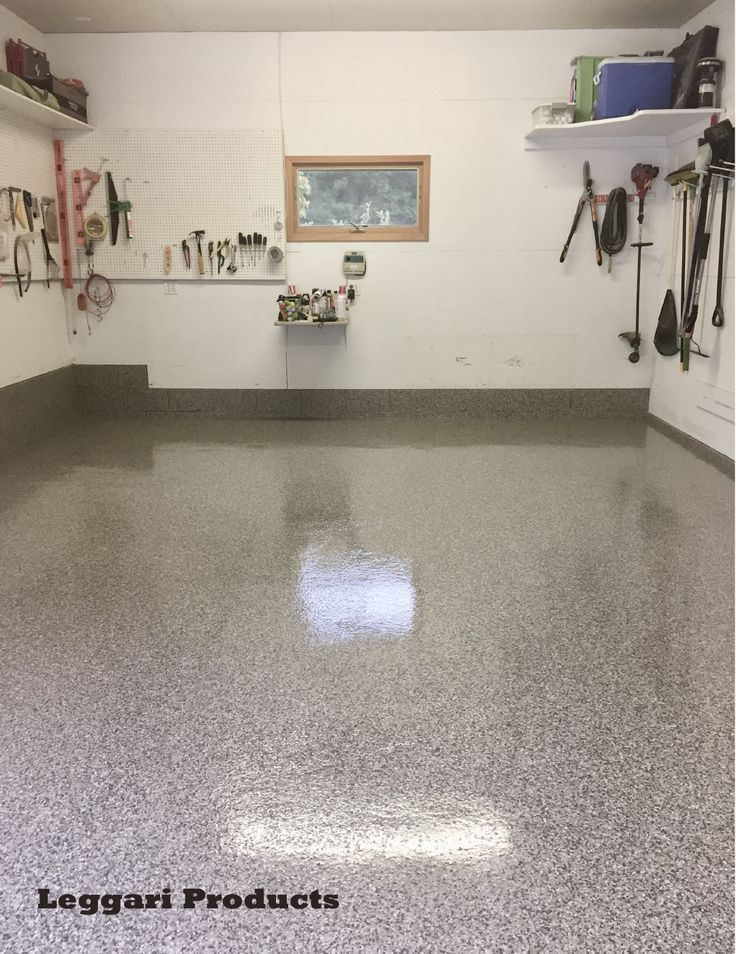 Garage remodel for this floor Paint chip floor e chip