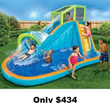 Swing Sets Ply House Kid S Pools Water Slides Houston Tx Free Shipping No Sales Tax No In Kids Water Slide Inflatable Water Park Inflatable Water Slide