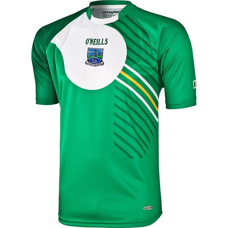 Fermanagh GAA Green Training Jersey 2013 Mens