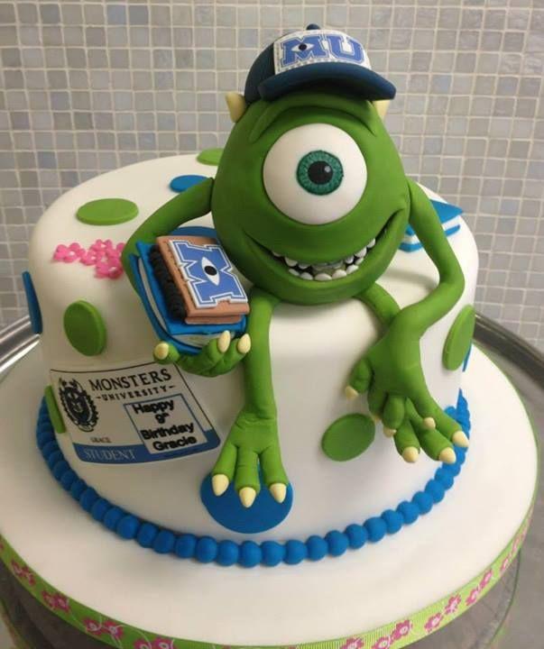 Mike Monsters University cake | Pixar Cakes | Pinterest ...
