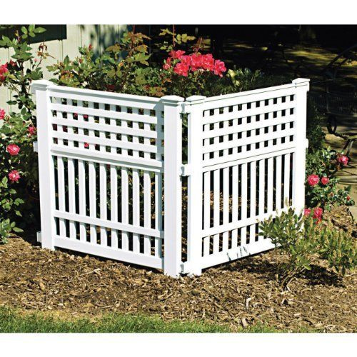 Suncast GVF3232 24 Inch By 20 1/2 Inch Grand View Fence