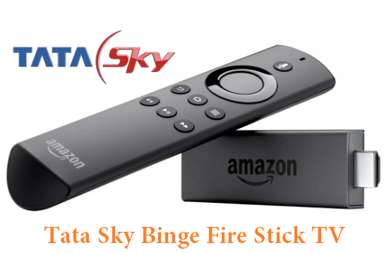 Tata Sky Launches Fire Stick Watch Tv Without Set Top Box In Just Rs 249 Fire Tv Stick Fire Tv Amazon Fire Tv