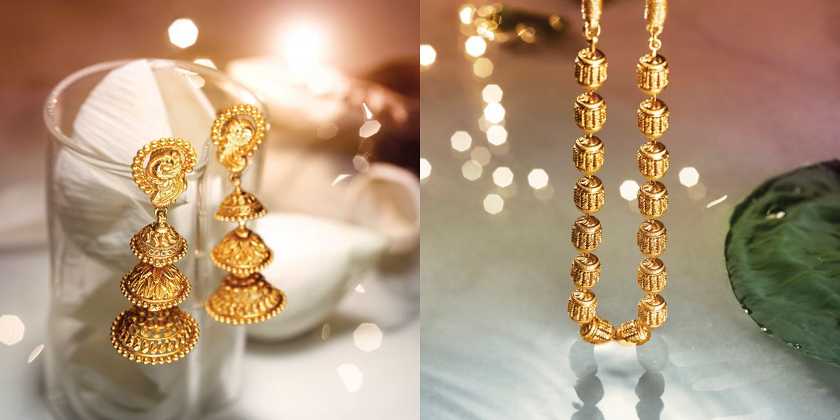 Tanishq Jewellery Collection Divyam 9 Earings