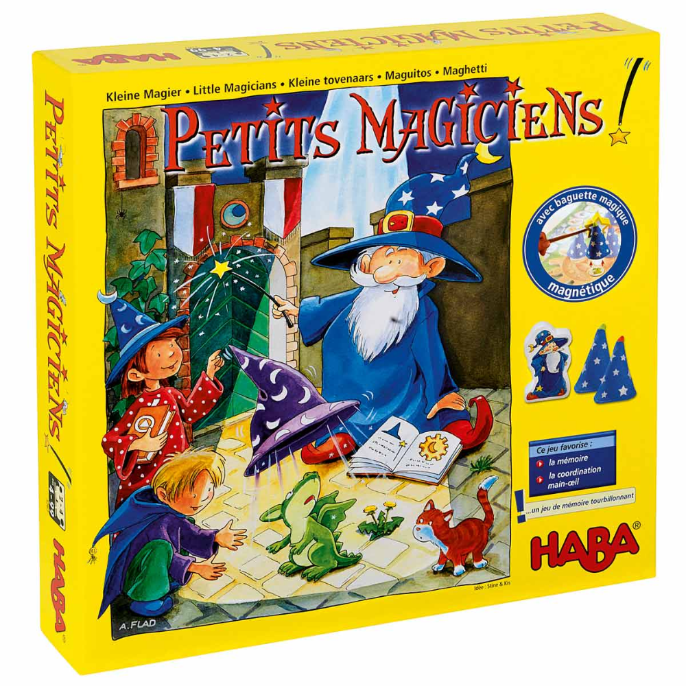 Jeu De Societe Les Petits Magiciens Haba Pour Enfant De 4 Ans A 10 Ans Oxybul Eveil Et Jeux Jeux De Societe Jeux De Memoire Magicien
