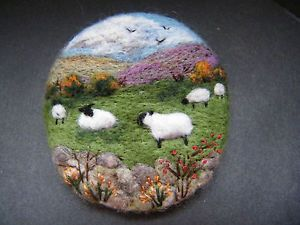 Handmade-needle-felted-brooch-Gift-Autumn-in-the-Uplands-by-Tracey-Dunn