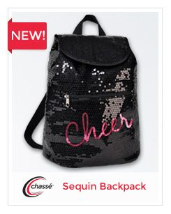 dc9f4abf470a Sequin cheer backpack from Chassé