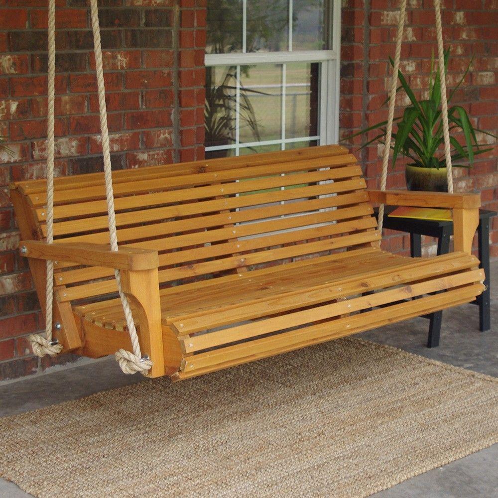 Photo of TMP Outdoor Furniture Classic Red Cedar Garden Swing